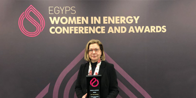 "CHC President Winner of EGYPS 2020 ""Women in Energy Leadership"" Award"